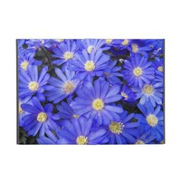 Blue Anemones iPad Mini Cases from Zazzle.com