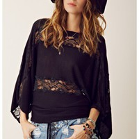 Beyond Vintage Lace Dolman Sweater