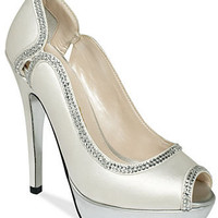 E! Live From the Red Carpet Shoes, E0041 Platform Evening Pumps - All Women's Shoes - Shoes - Macy's