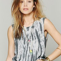 Free People We The Free Bamboo Forest Wash Tee