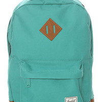 Herschel Supply  The Heritage Mid Volume Backpack in Teal : Karmaloop.com - Global Concrete Culture