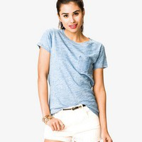 Patch Pocket Denim Tee