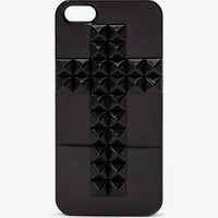 Studded Cross Phone Case