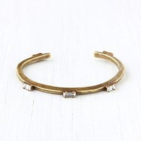 Free People Five Baguette Cuff