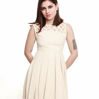 Dear Creatures Lily Dress - Cream