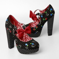 Iron Fist Xgirlfriend Platform Shoes - Black