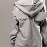 Fabulous hoodie with wings