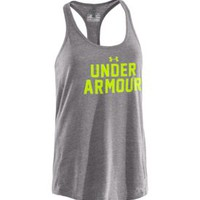 Under Armour Women's Undeniable Wordmark Tank Top