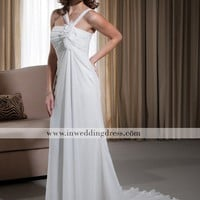 Informal Bridal Gown,Summer Wedding Dress