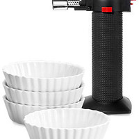 Oggi Creme Brulee Set, 5 Piece - Baking Tools - Kitchen - Macy's