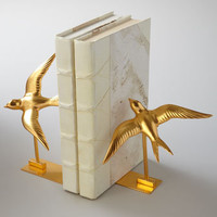 BANCHI Swallow Bookends