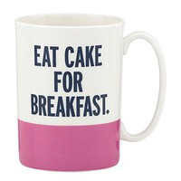kate spade new york Eat Cake for Breakfast Mug | Bloomingdale's