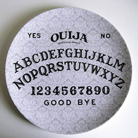 Ouija Board - Decorative Plate - Melamine - Dinnerware - Occult