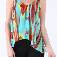 geo print top — Feetomatic By AutoSquad Girlz