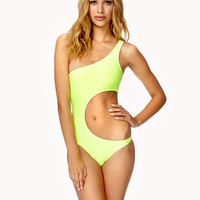 One-Shoulder Monokini