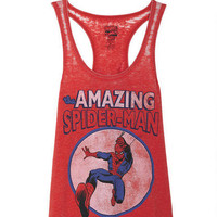 Amazing Spiderman Burnout Tank