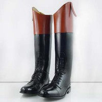 Hispar Royal Ladies zipper hunt field Riding Boots
