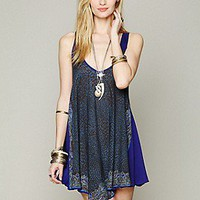 Free People  Printed Tunic Slip at Free People Clothing Boutique