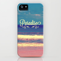 Paradise iPhone & iPod Case by Josrick