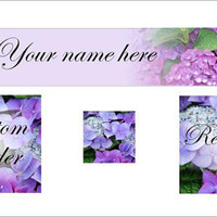 Etsy Banner Hydrangea flowers - avatar custom reserved graphics