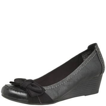 womens american eagle bow wedge from payless