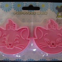 Marie Cat 3D Cookie Cutter Stamp Set