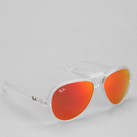 Ray-Ban Plastic Aviator Sunglasses