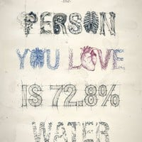 """Person You Love"" - Art Print by Teagan White"