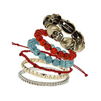 Skull Bead Bracelet Pack - Bracelets - Jewelry  - Bags & Accessories