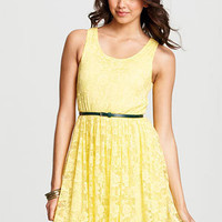 dELiAs > Neon Lace Dress > clothes > dresses > solid