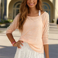 dELiAs > Crochet Tulip Long-Sleeve > clothes > tops > long sleeve