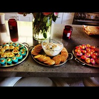 Josh Kelley's Momma's Dyed Deviled Eggs
