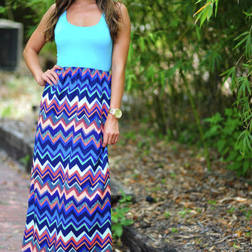 RESTOCK Fall Right Back To You Maxi Dress: Multi | Hope's