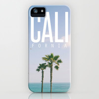 CALI FORNIA iPhone & iPod Case by Thecrazythewzrd