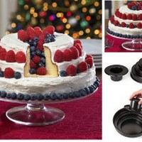 3 Tier Bake And Fill Cake Baking Pan By Collections Etc