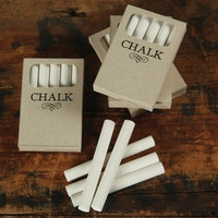 French Seaside Style & Beach Home Decor â?? Box of Chalk | White