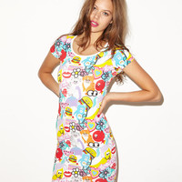 Lazy Oaf | Lazy Oaf X Nasty Gal Stickers Bodycon Dress