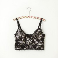 Free People Tea Party Lace Crop Bra