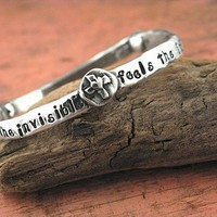 Faith Sees Handmade Bangle by Island Cowgirl Jewelry