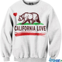 California Love Crew Neck | fresh-tops.com