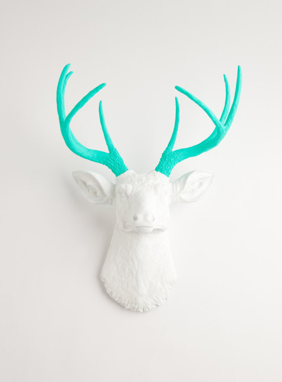 The Oleg Resin Faux Deer Head