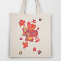 Flowering to Bloom Tote Bag by Ben Geiger