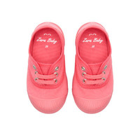 Toe-cap plimsoll - Shoes - Baby girl - Kids - ZARA United States
