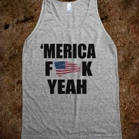 MERICA F**K YEAH - USA - underlinedesign