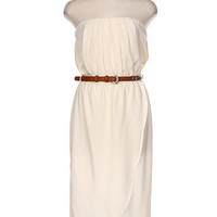 Escape to Napa High Low Dress - Ivory -  $46.00 | Daily Chic Dresses | International Shipping