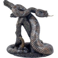 Home Decor | Rattle Snake Sculpture