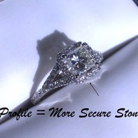 Have You Seen the Ring?: Brand New Elle Designer Princess Cut Engagement Ring