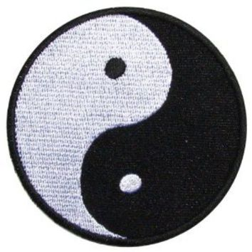 Amazon.com: Yin Yang Patch (Su002) Logo for Dry Clothing ,Jacket ,Shirt ,Cap Embroidered Iron on Patch ,By Sugar99shop: Arts, Crafts & Sewing