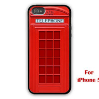 iPhone 5 Case, London Telephone Booth iphone 5 case, Telephone Booth iphone 5 case