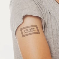 Tattly™ Designy Temporary Tattoos — Emailer Extraordinaire